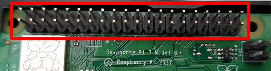 gpio pins raspberry pi