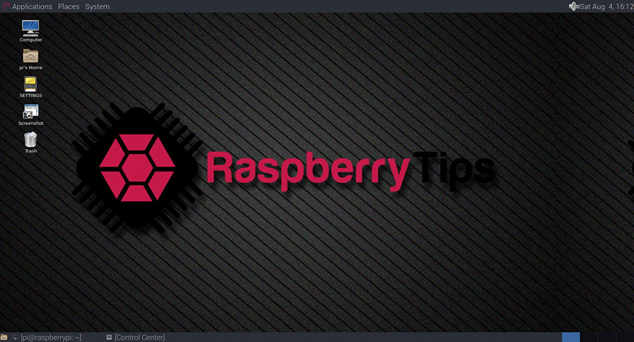 How to change desktop appearance on Raspberry Pi