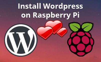 install wordpress raspberry pi