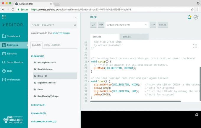 arduino code ide