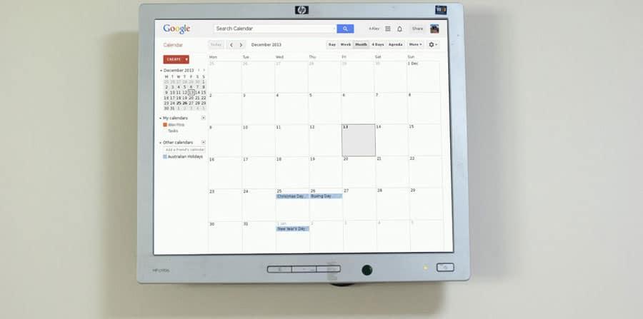 smart live calendar