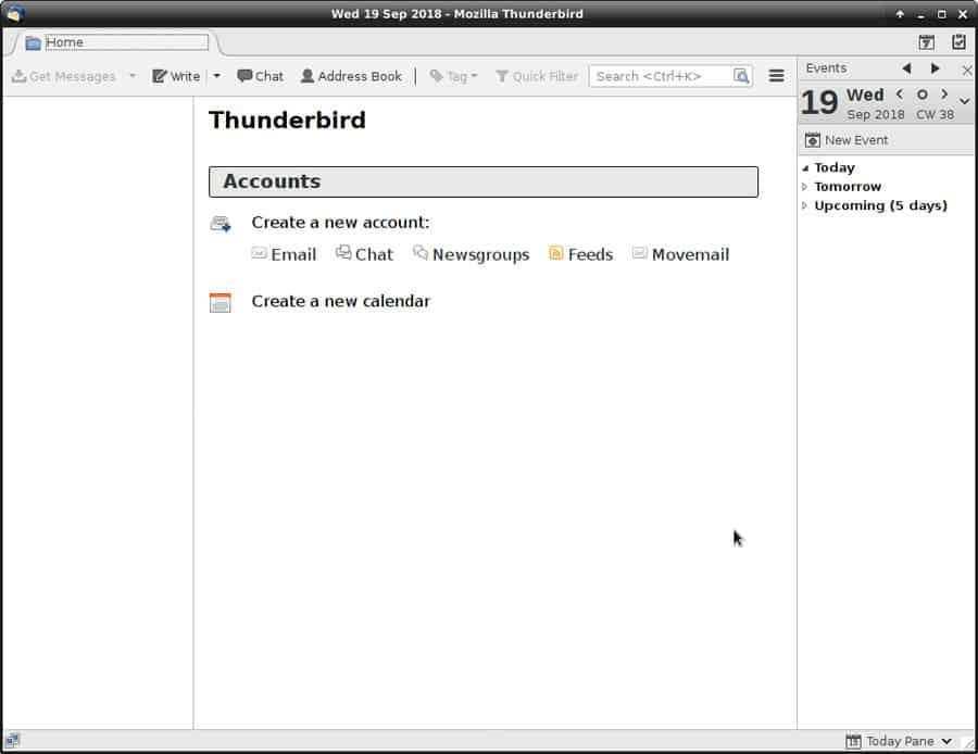 thunderbird email reader
