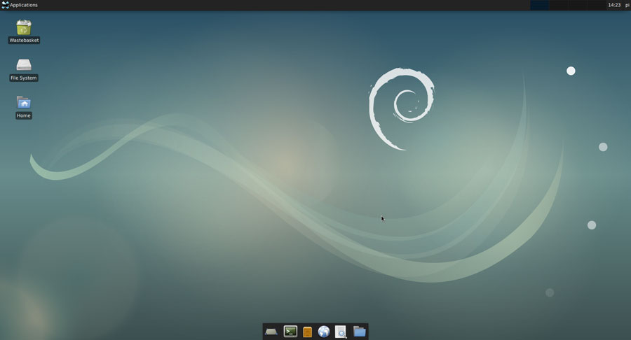 xfce4 on raspberry pi
