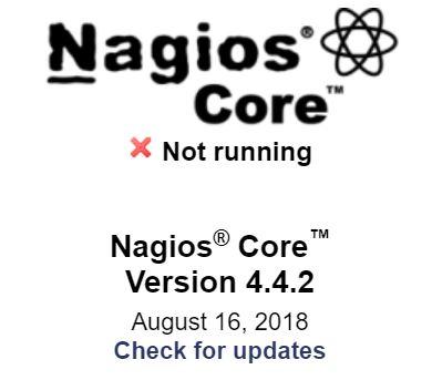 nagios not running raspberry pi