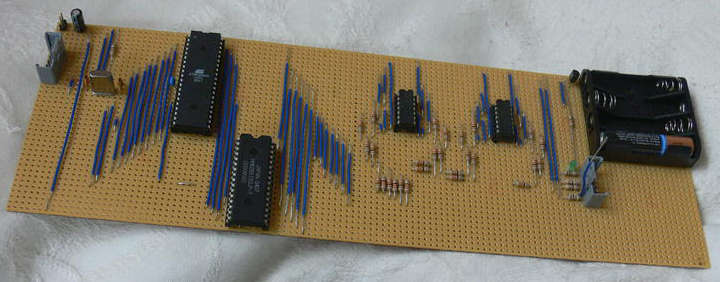 raspberry pi prototype atmel