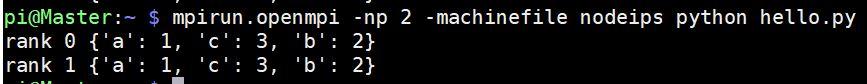cluster python script
