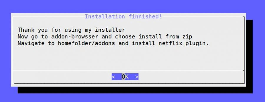 netflix installation ready