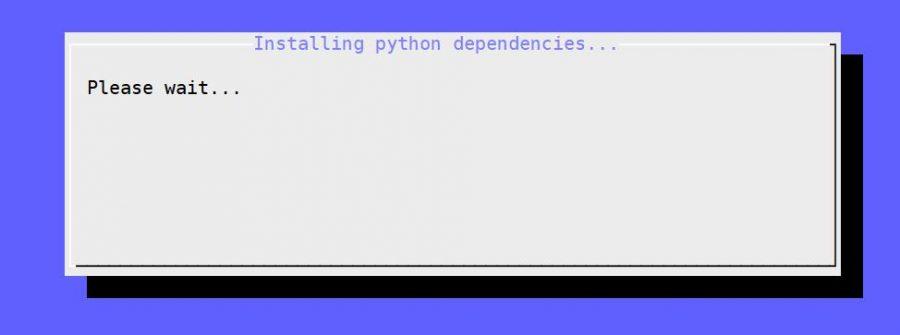 kodi installing python