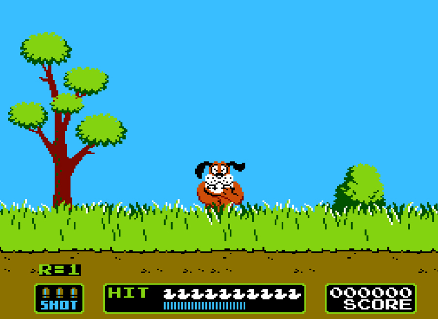 retropie duck hunt snes