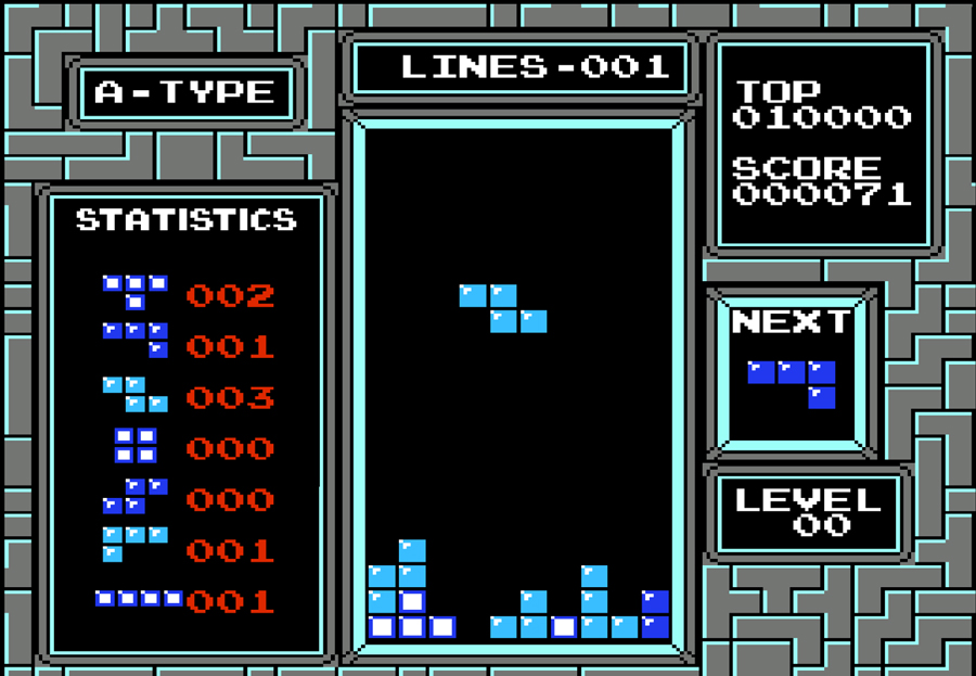 tetris on nintendo