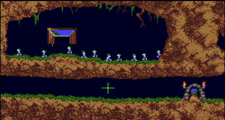 lemmings super nintendo