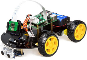 robot car kit for raspberry pi