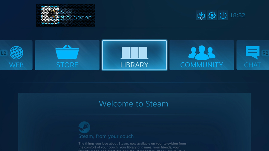 steam menu