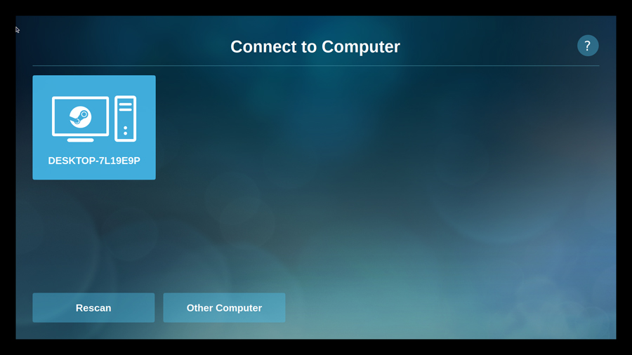 steam connect computer