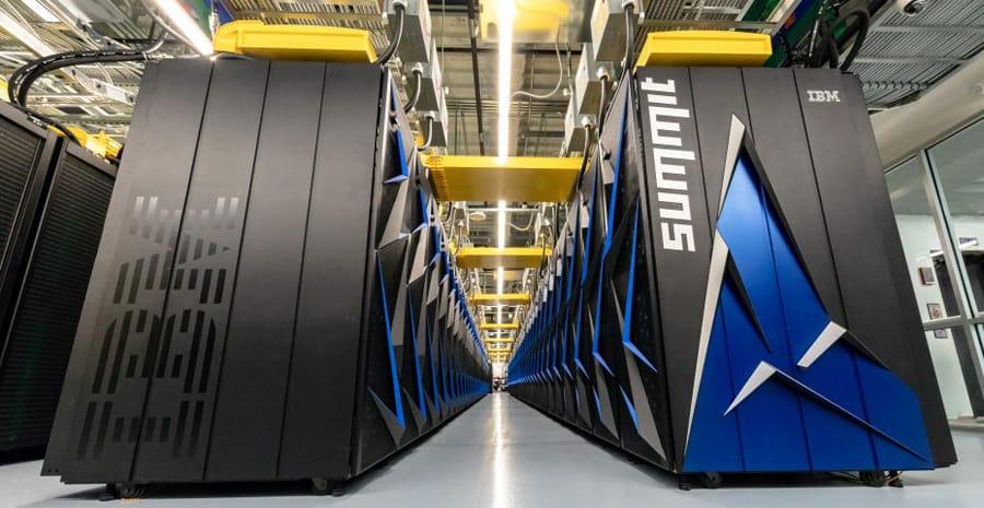 summit computer cluster ibm