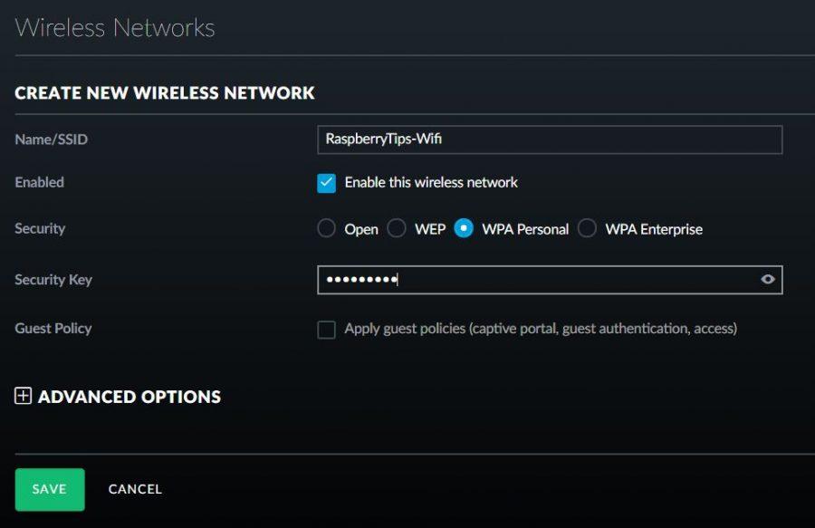 new wireless network creation