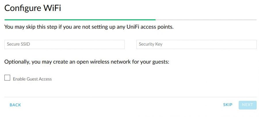 unifi wifi configuration