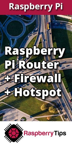 raspberry pi wireless firewall