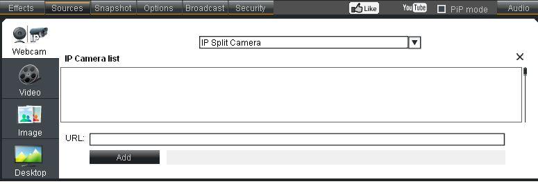 splitcam sources