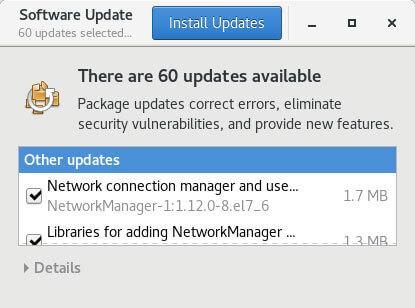 centos update tool