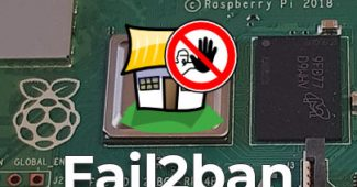 how to install fail2ban on raspberry pi