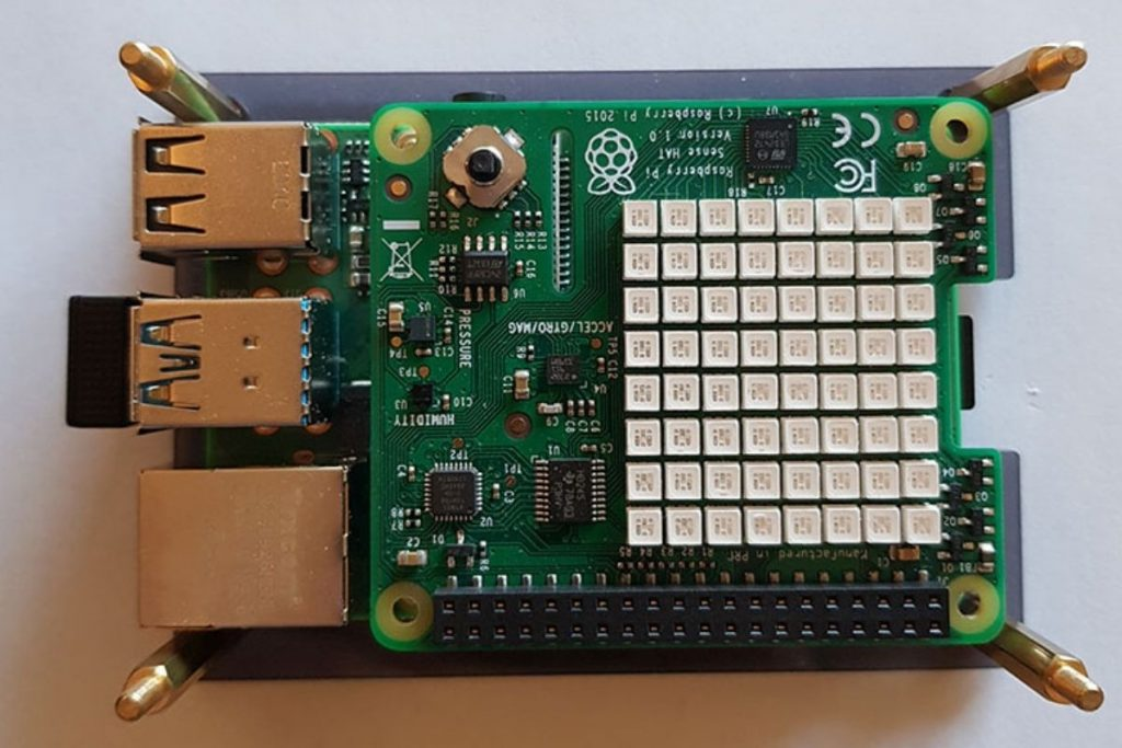 getting started with sense hat on raspberry pi
