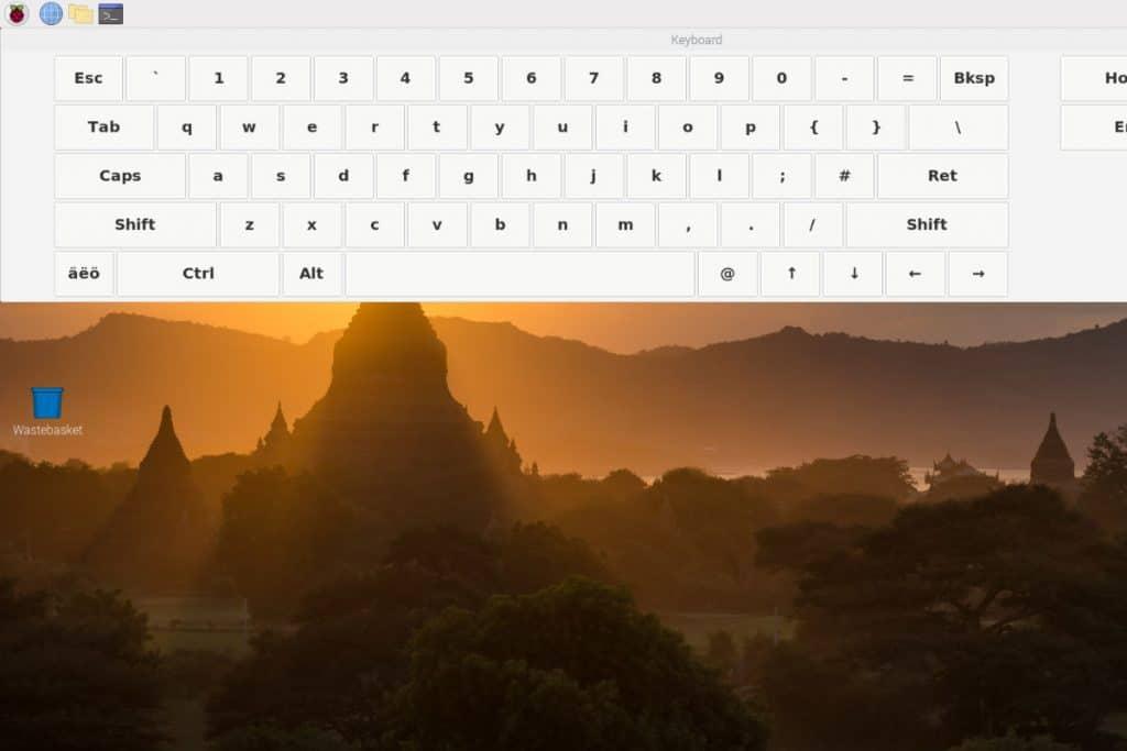 How to Install On-Screen / Virtual Keyboard in Raspberry Pi? – RaspberryTips