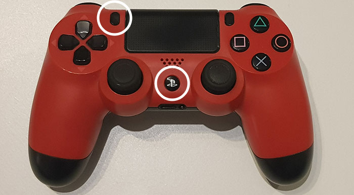 pairing mode for a ps4 controller